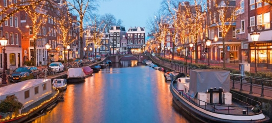Overnight Amsterdam City Break + Return Eurostar Travel