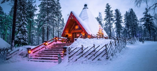 4* Lapland Getaway, Santa Claus Village, Breakfast