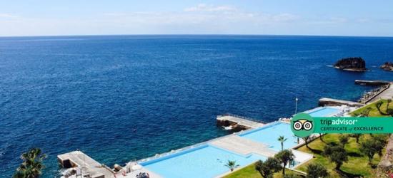 5* Half-Board Clifftop Madeira Spa Break  - Sea View Room!