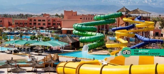 4* All-Inclusive Marrakech Holiday  - Water Park Hotel!