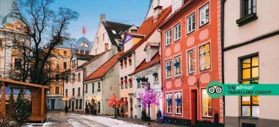 4* Riga Christmas Break, Breakfast  - Award-Winning Hotel!