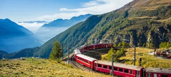 Italy to Switzerland Bernina Express Train Getaway