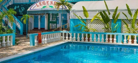 7nts at the 3* Legends Beach Resort, Negril