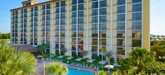 7nts at the 3* Rosen Inn, closest to Universal, Florida