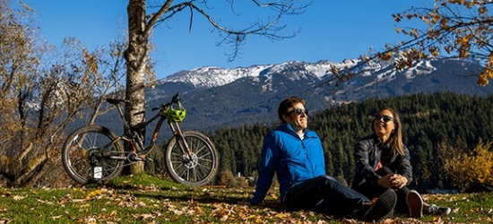 Win an autumn mountain bike holiday for two in Whistler, Canada
