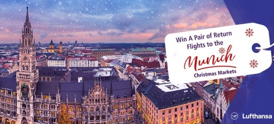 Win a pair of return flights to Munich for the Christmas Markets
