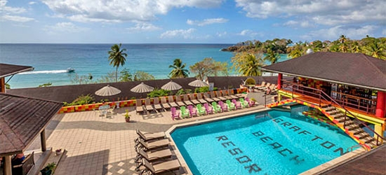 3* Tobago escape w/flights