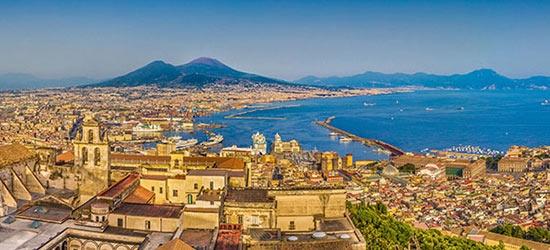 3* Naples city break w/flights