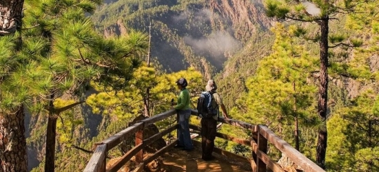 Win a week's walking holiday for two on La Palma