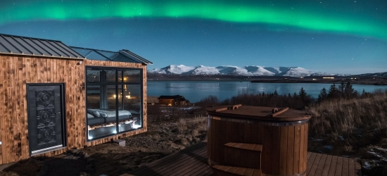 Win an incredible Panorama Glass Lodge stay for two in Iceland