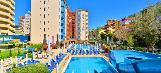 7 nights in May at the 4* Club Big Blue Suite Hotel, Antalya, Turkey