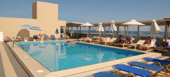 7 nights in Mar at the 4* Achillion Palace Hotel, Crete, Greece