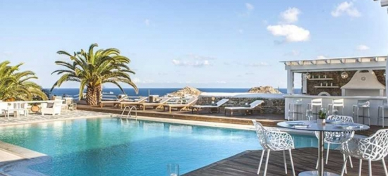 7 nights in Sep at the 4* Anemoessa Hotel, Mykonos, Greece