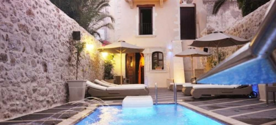 7 nights in Mar at the 5* Antica Dimora Suites, Crete, Greece