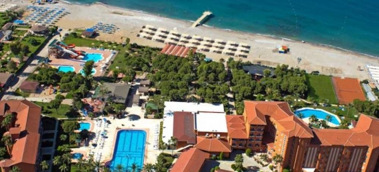 7 nights in May at the 4* Club Turtas Beach Hotel, Antalya, Turkey