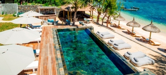 $ Based on 2 people per night | Seapoint Boutique Hotel, Pointe aux Cannoniers, Mauritius