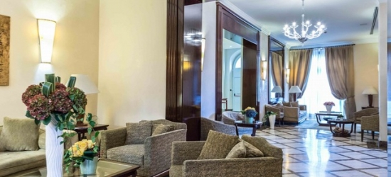 $ Based on 2 people per night | Elegant Florence base in the heart of the city, San Gallo Palace, Italy