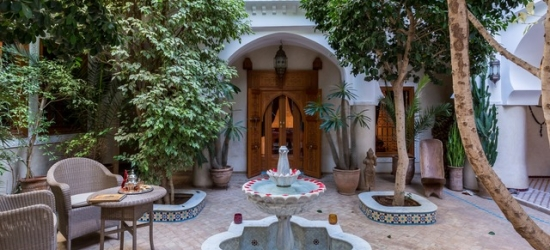 Based on 2 people per night | 17th-century Marrakech medina riad stay, Riad Asrari, Morocco