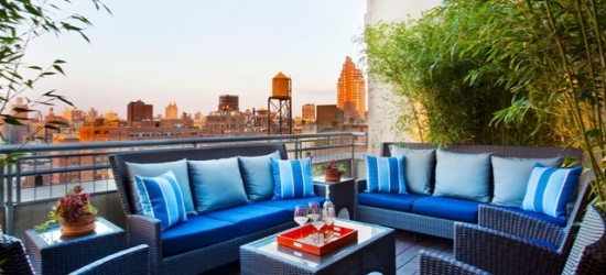 Based on 2 people per night | Trendy NYC boutique close to Central Park, Arthouse Hotel, Manhattan