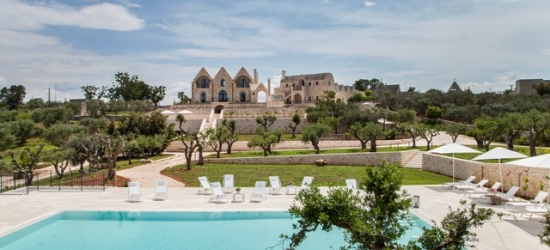 $ Based on 2 people per suite per night | Charming resorted Puglia trulli stay, Ottolire Resort, Italy