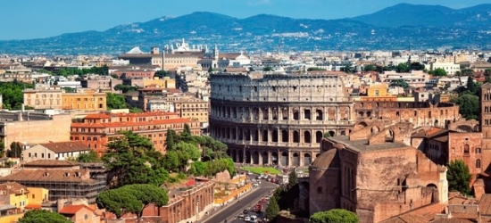 $ Based on 2 people per night   Modern Rome base in the city's historic center, NH Collection Roma Vittorio Veneto, Italy