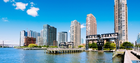 Based on 2 people per night   East River base a short hop from Manhattan, Long Island City, New York