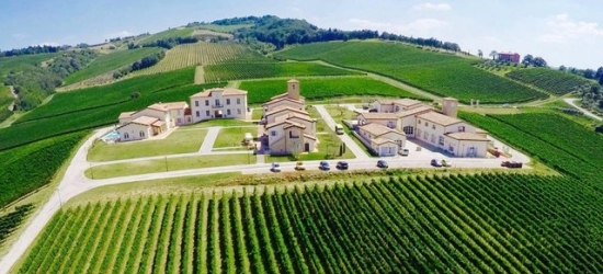 $ Based on 2 people per night | Stunning Italian vineyard resort in Emilia-Romagna, Borgo Condé Wine Resort, Italy