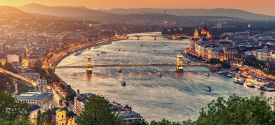 $ Based on 2 people per night | Contemporary Budapest stay in a central city pad, K+K Hotel Opera, Hungary