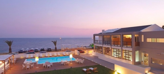 Based on 2 people per night | Gorgeous Greece beach stay at a minimalist resort, Sesa Boutique Hotel, Preveza