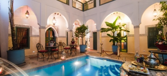 Based on 2 people per night | Marrakech riad in a former sultan's mansion, Riad Caesar, Morocco