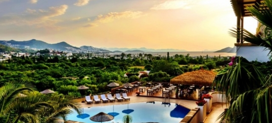 $ Based on 2 people per night | Boutique Bodrum stay at a lovely tranquil hotel, 4 Reasons Hotel & Bistro, Turkey