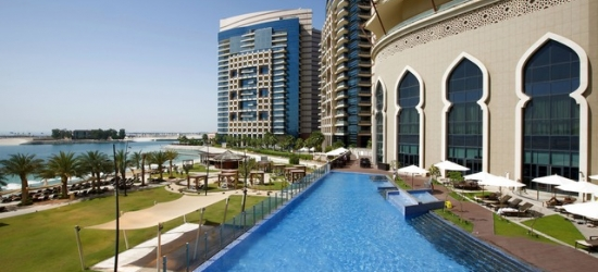 $ Based on 2 people per night | Abu Dhabi five-star on a sprawling private beach, Bab Al Qasr Beach Resort & Spa by Millennium, Abu Dhabi, UAE