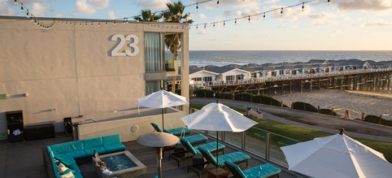 $ Based on 2 people per night | Beachside hotel in sunny San Diego, TOWER23 Hotel, California