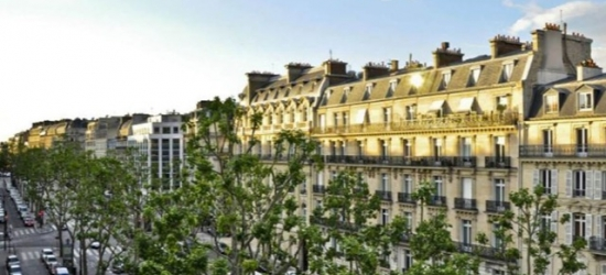 $ Based on 2 people per night | Modern charm at a central Paris bolthole, Hotel Elysees Regencia, France
