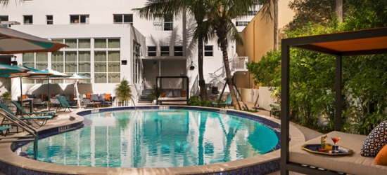 Based on 2 people per night | Hip South Beach hangout on Collins Avenue, Generator Miami, Florida