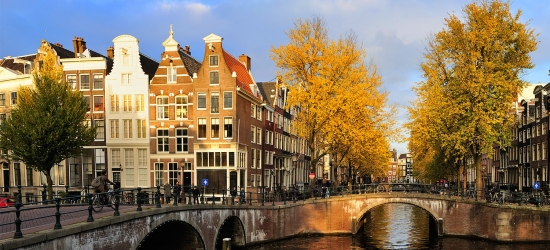Motorhome travel deal to Amsterdam or France, up to 20% off