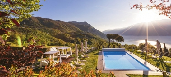£221 & up -- Room with a view: 2 nt-stay high above Lake Garda, 39% off