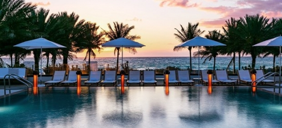 £150 & up-- Miami 5-Star Oceanfront Hotel, 60% Off