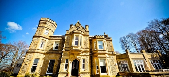 Peak District: Standard Room for Two with Breakfast, Three-Course Meal, and Wine at Hollin Hall Hotel