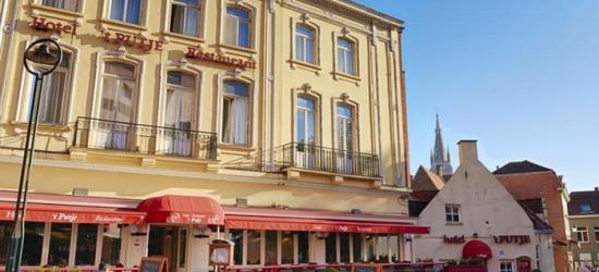 Bruges: soggiorno in camera doppia Economy o Superior con colazione per 2 persone all'Hotel 't Putje