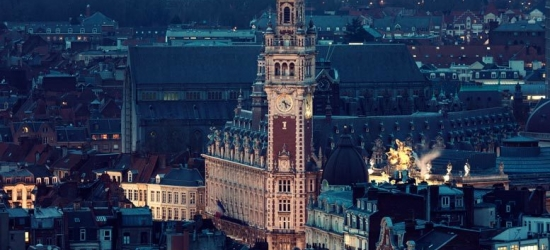 Overnight Central Lille City Escape & Return Eurostar