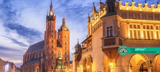 Central Krakow City Break, Breakfast  - Award-Winning Hotel