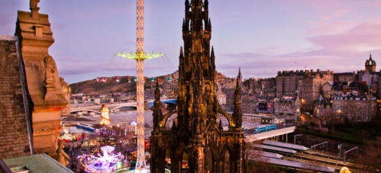 Edinburgh Stay & Wine for 2 @ Mercure Princes Street