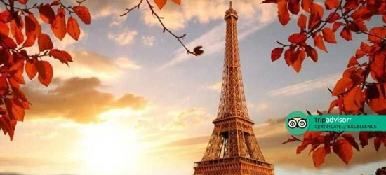 5* Paris Romantic Escape, Breakfast  - Valentine's Dates!