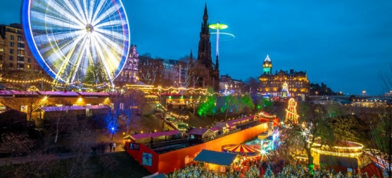 Edinburgh Christmas Market Break, Central Haymarket Hotel