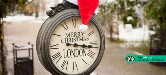 East London Boutique Stay & Breakfast for 2 - Christmas Market Dates