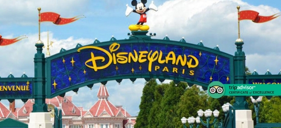 4* Disneyland Paris Retreat, 1-Day 1-Park Ticket