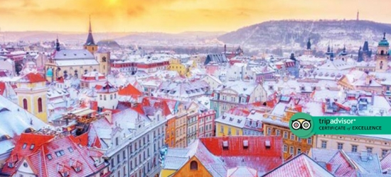 4* Prague Stay & Breakfast - Near Old Town Square Christmas Market!
