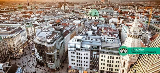 Central Vienna City Escape, Breakfast  - Dates Until Winter 2020!