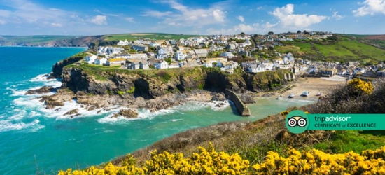 4* Central Port Isaac & Breakfast for 2 - Near Fisherman's Market!